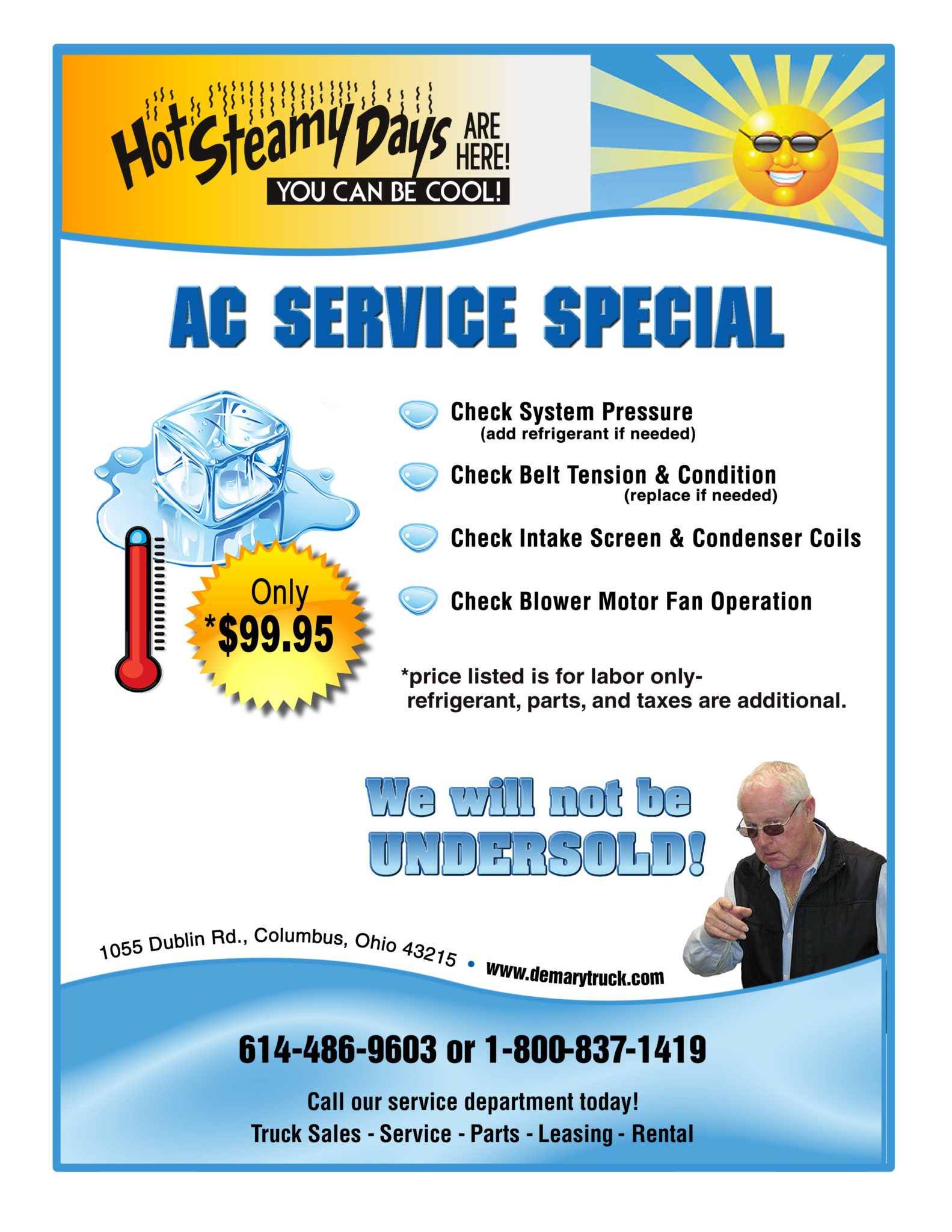 AC Special Only $99.95